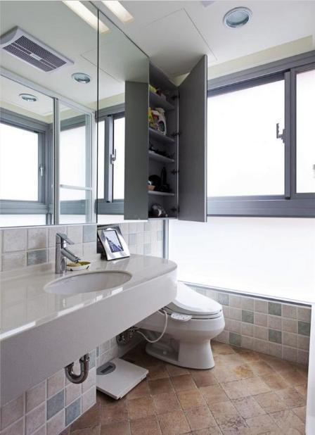 40平米小户型卫生间装修