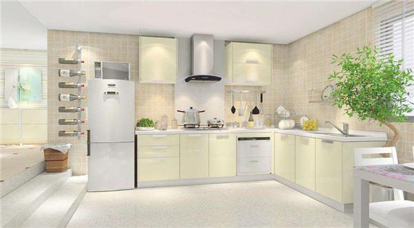 厨房家具摆放位置规划
