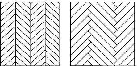 人字纹、鱼骨纹的区别