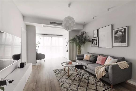 66平米二手房客厅改造