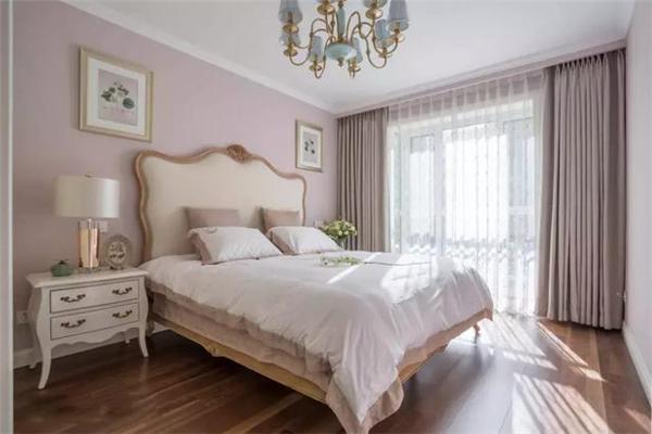 美式大平层卧室设计