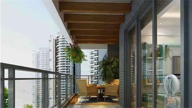 不同阳台的不同设计