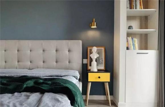 110㎡北欧风格卧室装修
