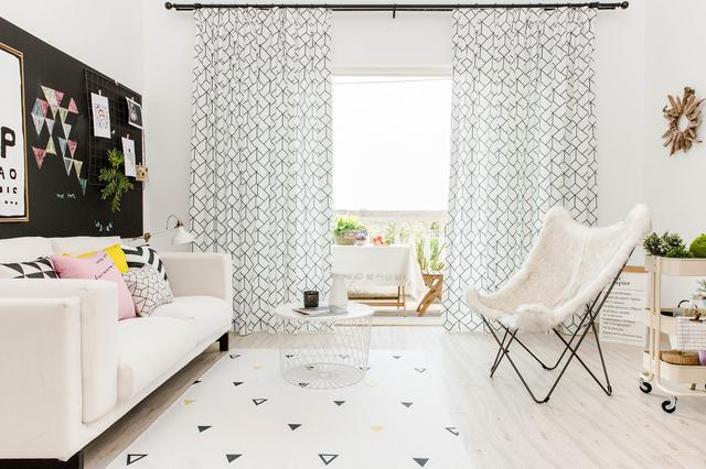 北欧风格客厅装修 惬意随性的客厅