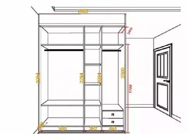 卧室装修尺寸