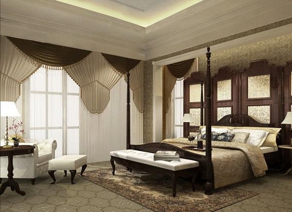 高端卧室家装设计