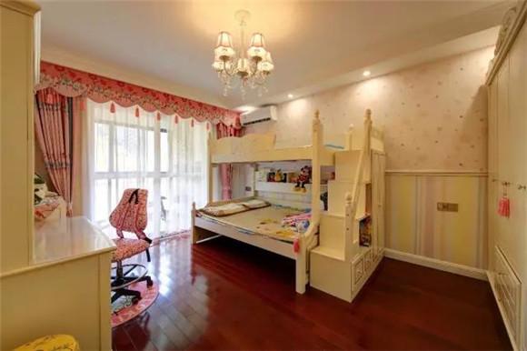 108平米新中式儿童房装修