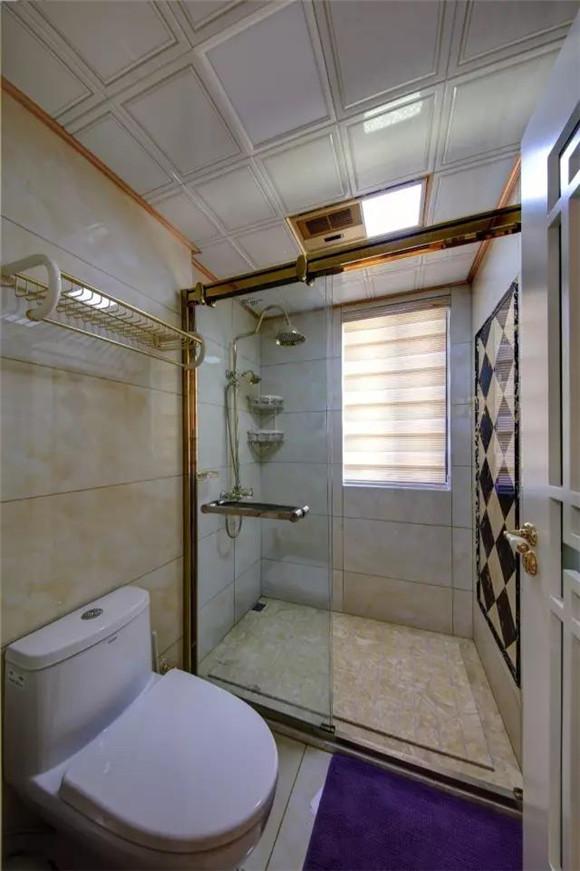 108平米新中式淋浴房装修
