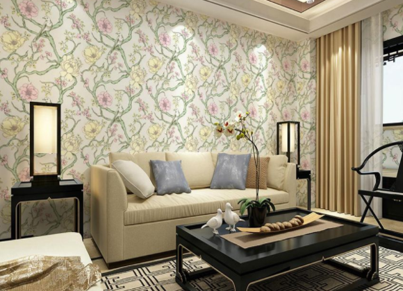 壁纸的材质和花色种类