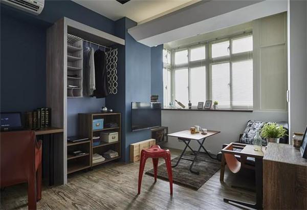 小面积卧室装衣柜方法