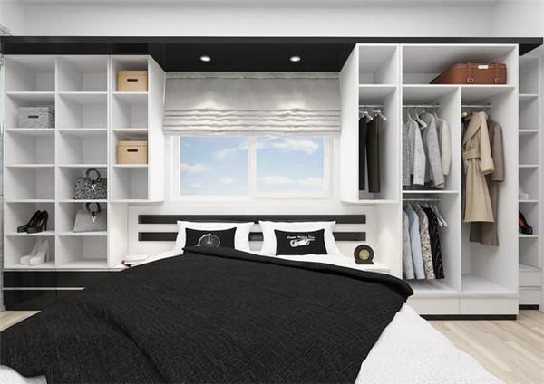 卧室小衣柜的安装方式