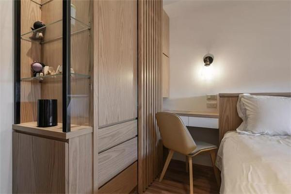 卧室面积小衣柜的安装方法