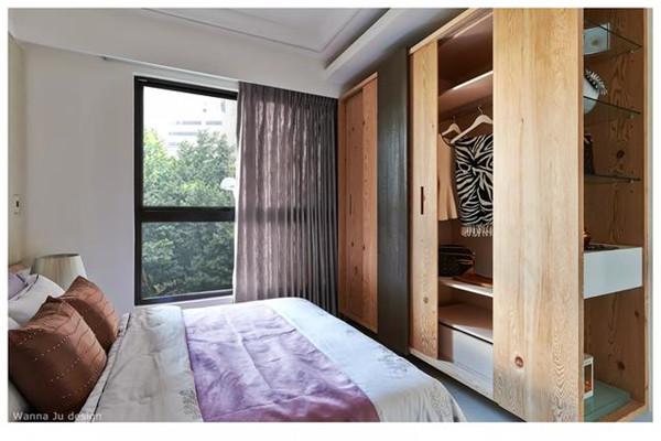 小面积卧室安装衣柜