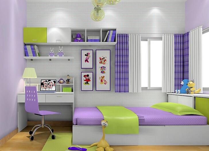 儿童卧室怎么装修