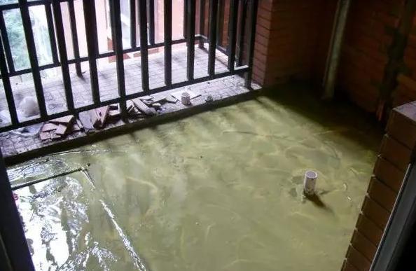 阳台装修防水