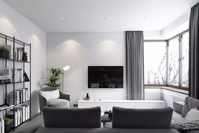 简单电视背景墙