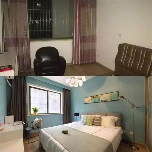 卧室改造对比图