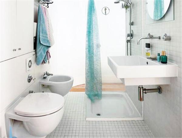 小面积卫生间装修效果