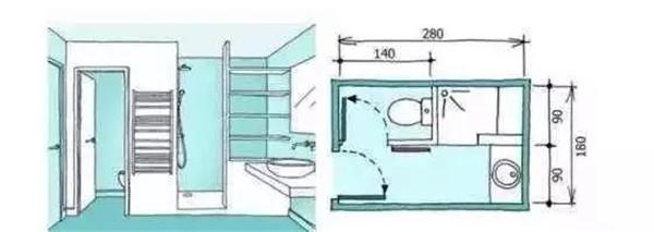 5平米卫生间装修方案