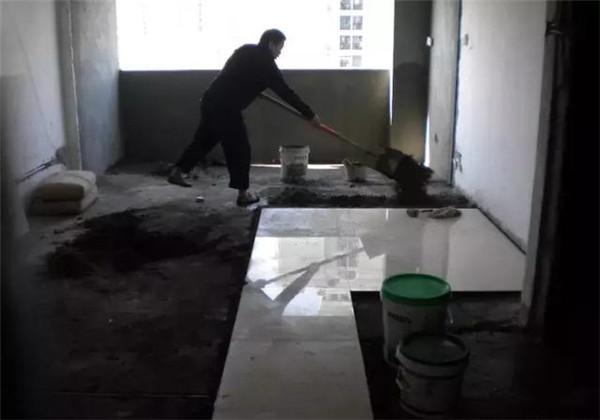 铺砖装修偷工减料怎么办