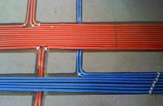 家庭装修常见偷工减料现象一:电线穿管
