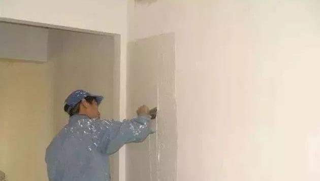 家庭装修常见偷工减料现象三:墙面刷漆