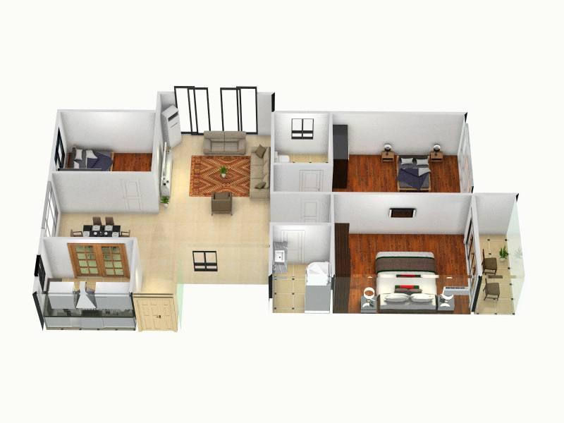 三室两厅装潢费用