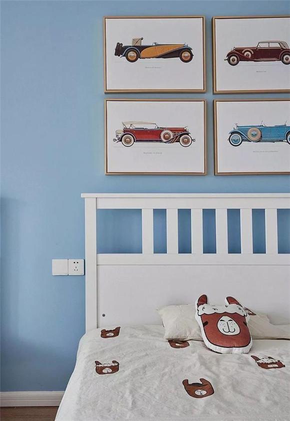 134㎡现代北欧风儿童房装修