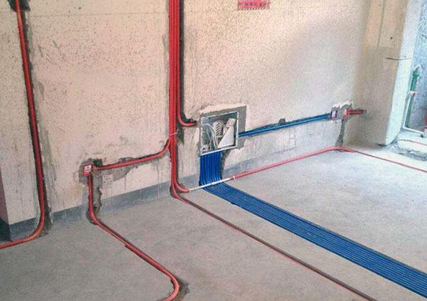 家庭水路安装走线图