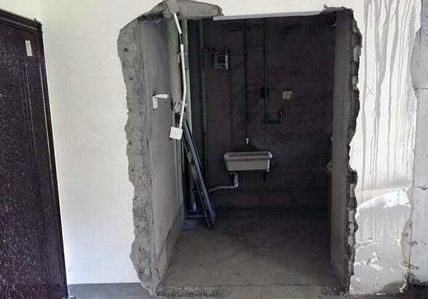 装修敲墙注意事项