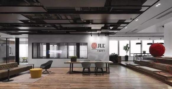 地产公司办公室装修效果图