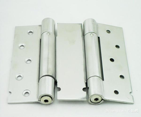 双弹簧合页安装方法