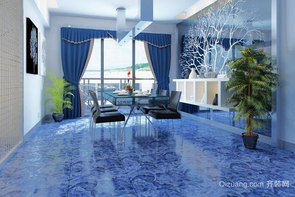 客厅流行的地砖颜色