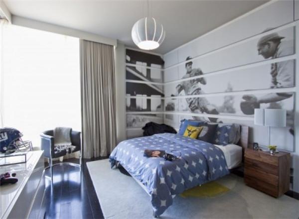 男生卧室装修设计