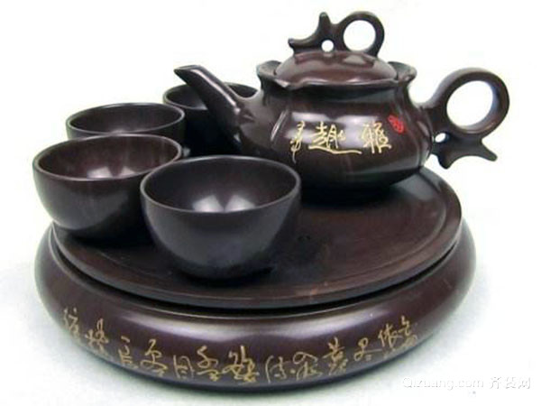 怎么使用木鱼石茶具