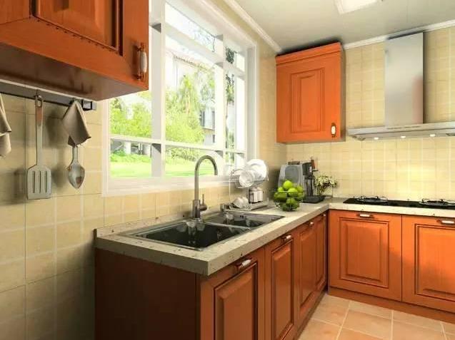 柳州美式乡村风格厨房装修