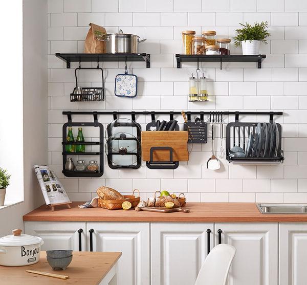 厨房墙面收纳