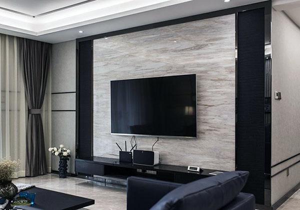 电视墙造型2018新款 电视墙怎么设计