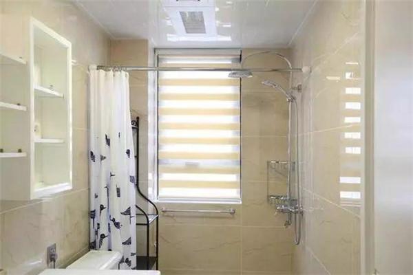 135㎡家装样板间小卫生间