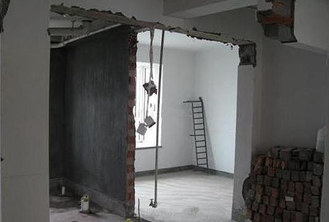 承重墙能否拆除
