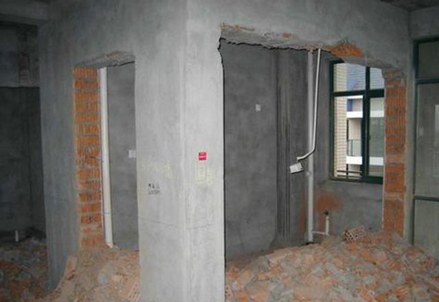 承重墙、配重墙、剪力墙、非承重墙是什么意思