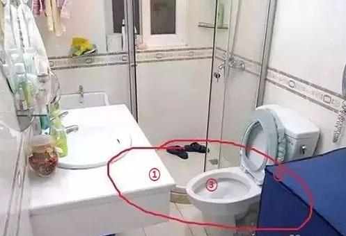 洗手台和马桶的位置设计