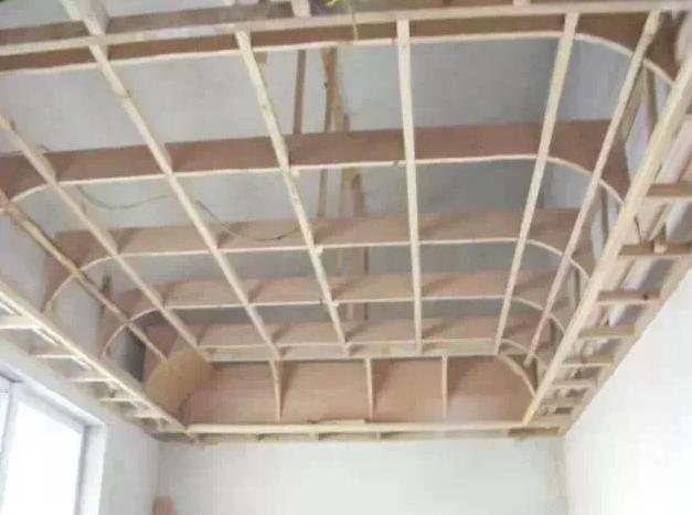 吊顶装修结构图