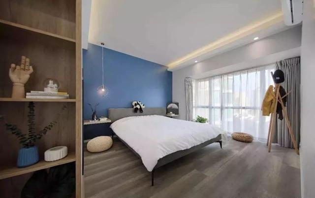 106㎡北欧风卧室装修效果图