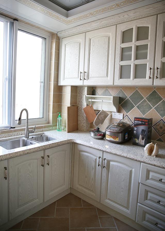 厨房美式装修效果图