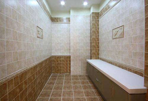 卫生间装修瓷砖的防滑性