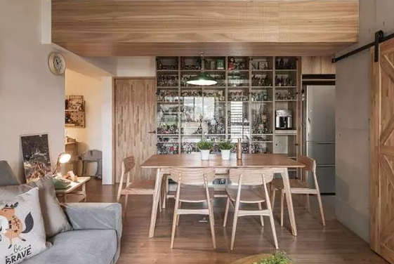 餐厅和厨房的设计规划