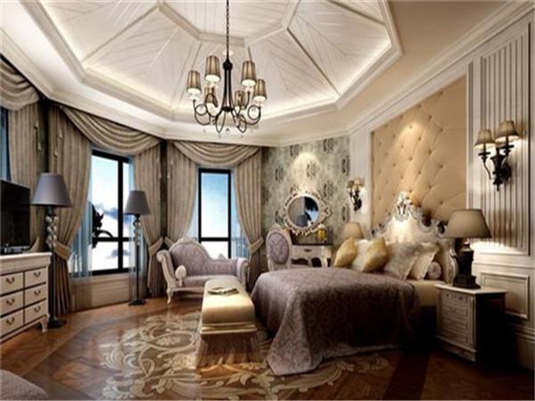 圆形卧室吊顶造型
