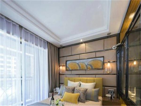 卧室吊顶设计——藻井式吊顶造型