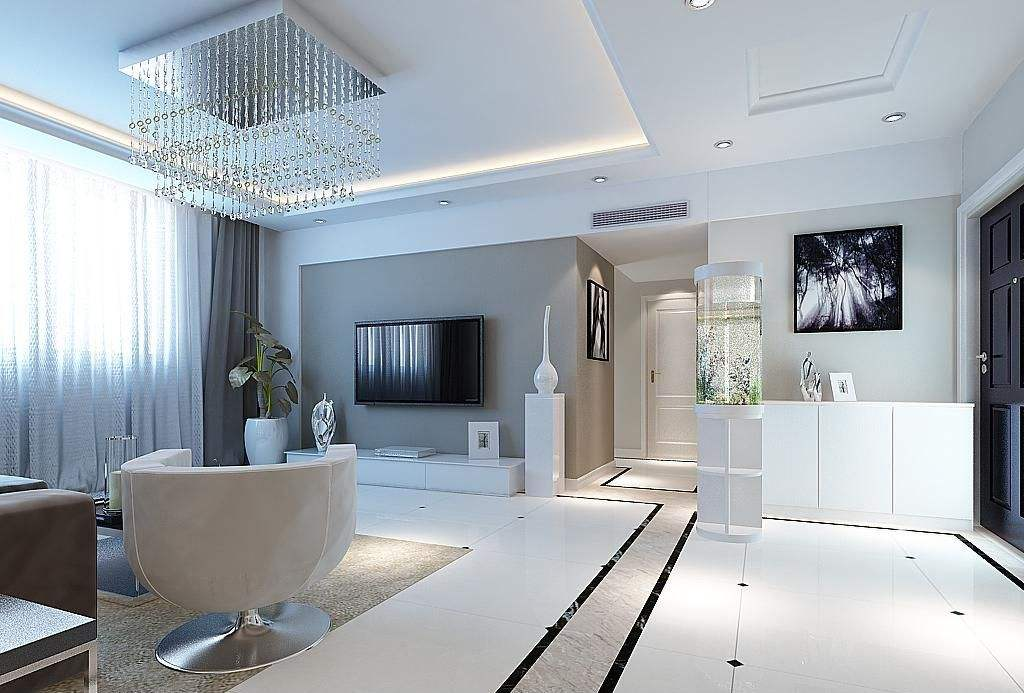 力天旗舰店集设计,施工,建材,家具,家电,软装等为一体的实景家居展厅